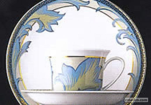 Versace : ARABESQUE :  dinnerware designer home accents cotedco